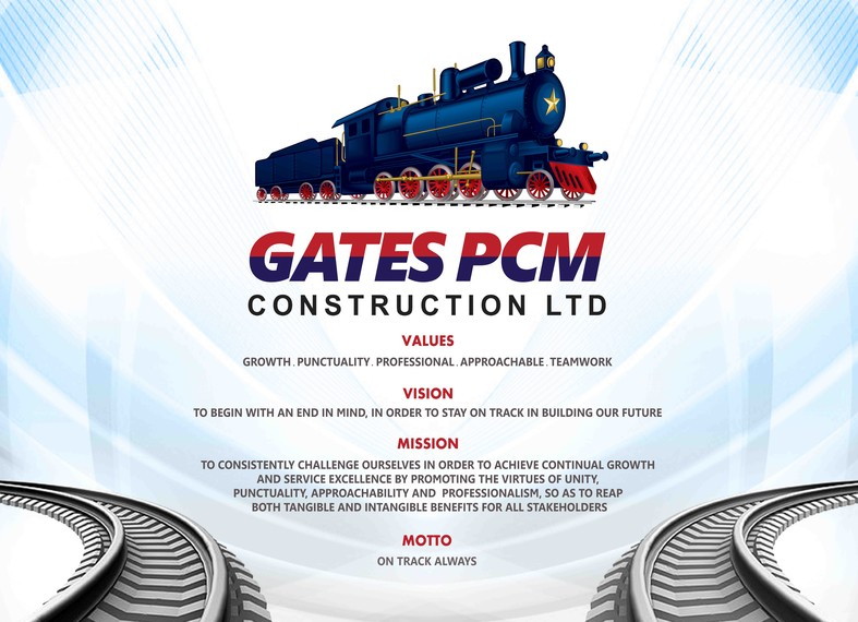 Vision, Mission, Values and Motto of Gates PCM Construction Ltd